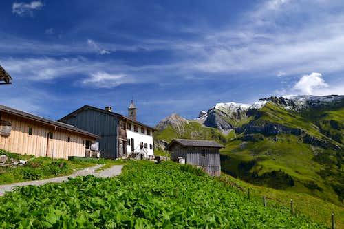 The Walser settlement of Bürstegg