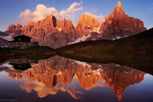 Baita Segantini and the Pale...