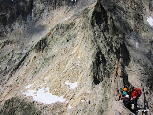 Aiguille Dibona - Voie Normale descent