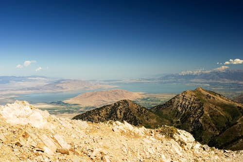 View from Mt. Nebo