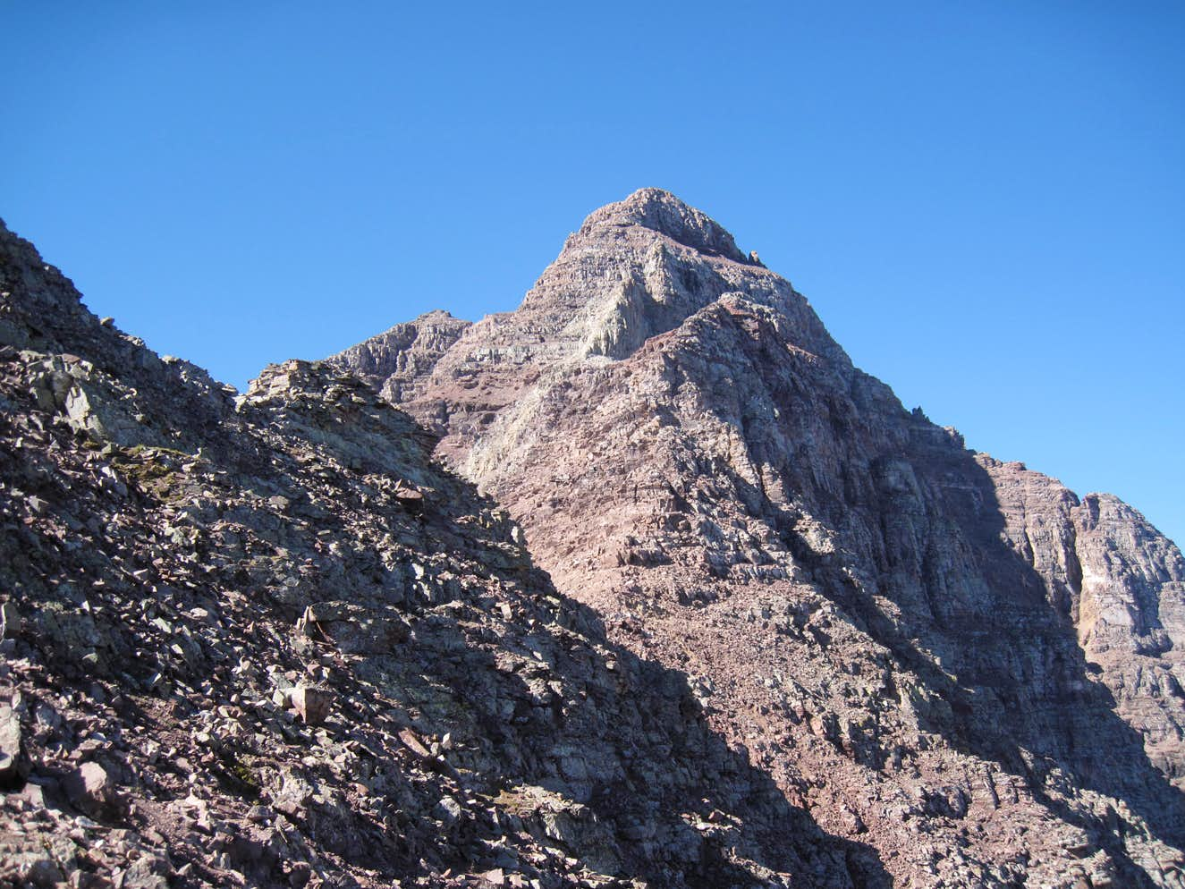 Pyramid Peak: Are We Just Mountain Goats?