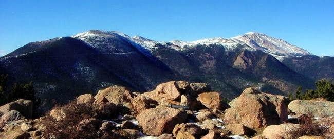 Pikes Peak and Almagre rom...