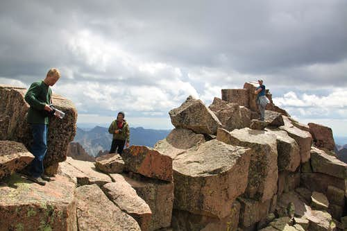 Windom Peak summit