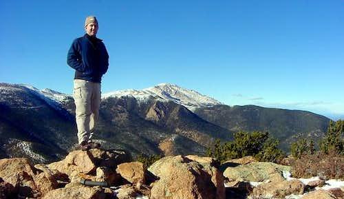 Me on the summit of Mt. Rosa...