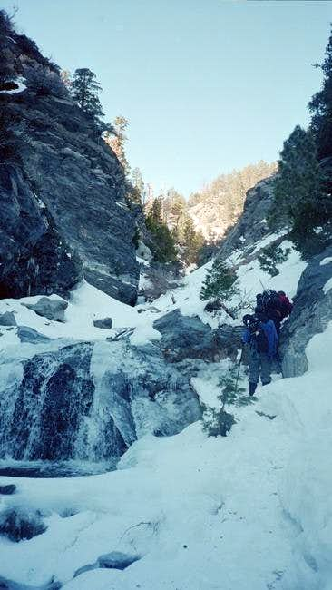 Lytle Creek Canyon To Mt...