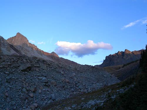 Twilight Approach to the High Basin