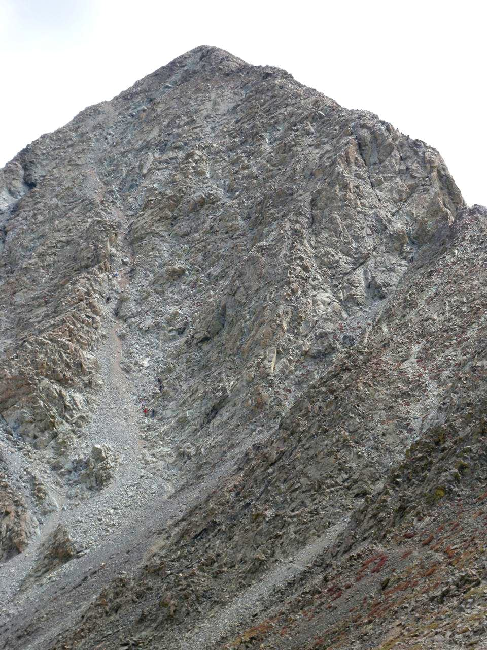 North Face Alternative and Northwest Ridge