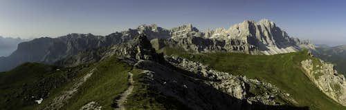 Puez Plateau and Geisler Group