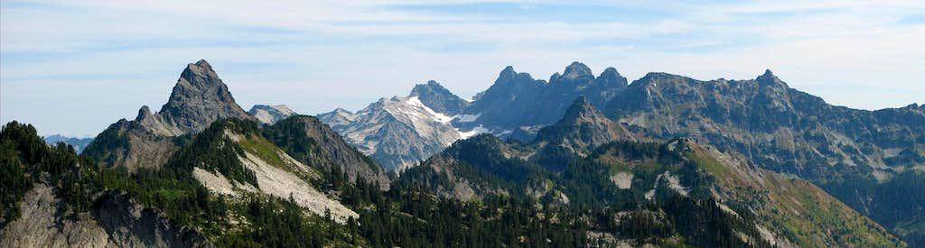 Cascade Beauties - Panoroma