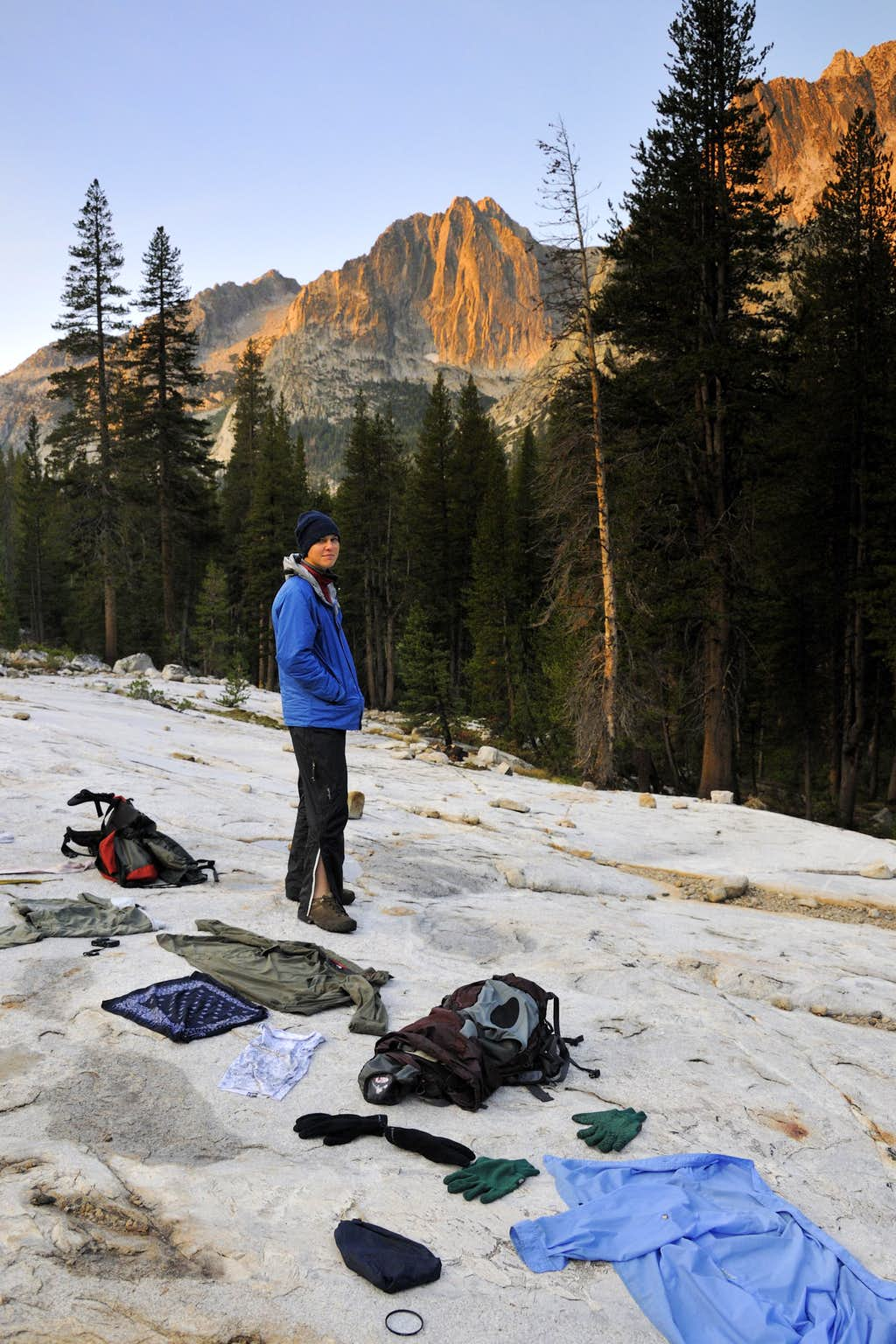 Drying Out in Le Conte Canyon