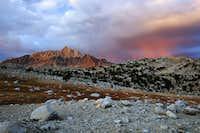 Cloud burst near Mt Humphreys