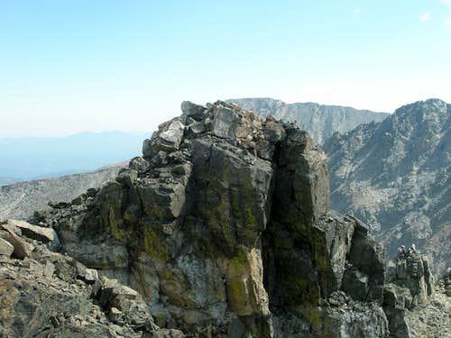 Shoshoni Peak True Summit