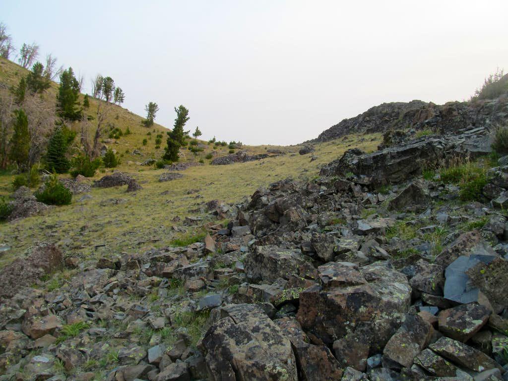 ascending Black Butte