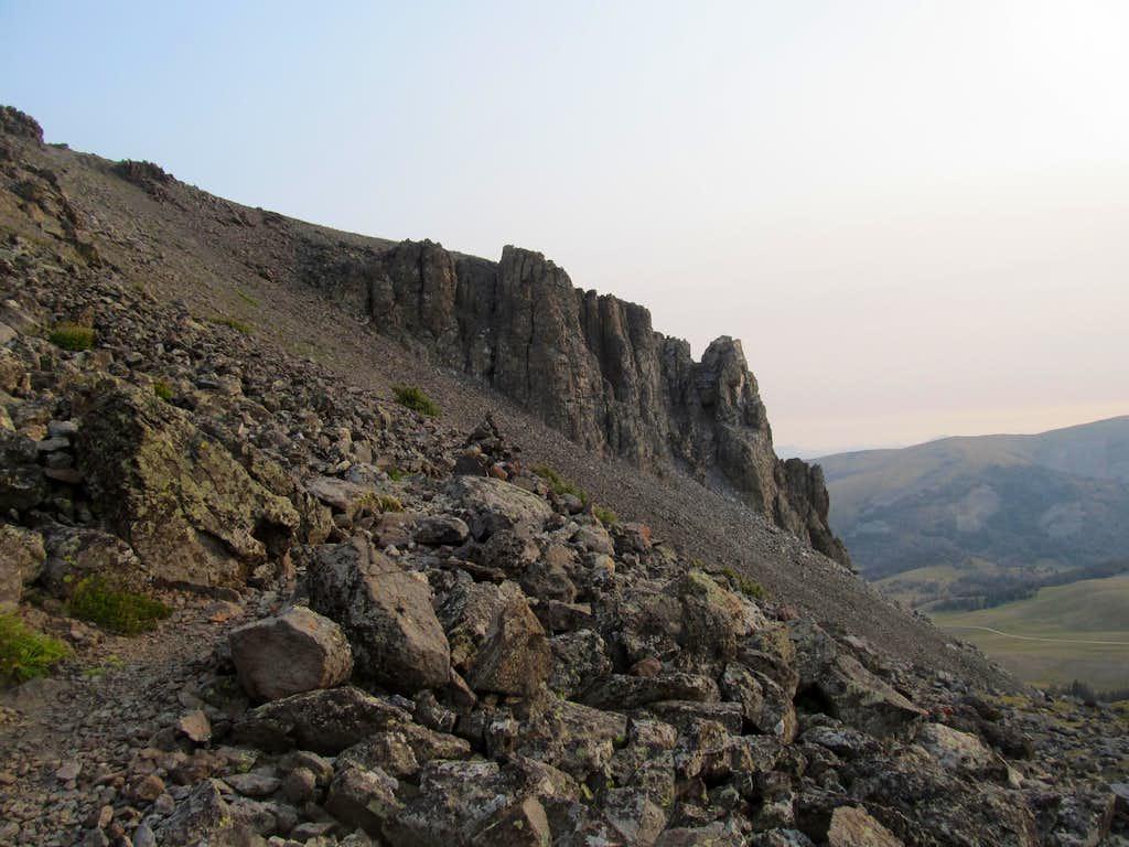 cliffs of Black Butte