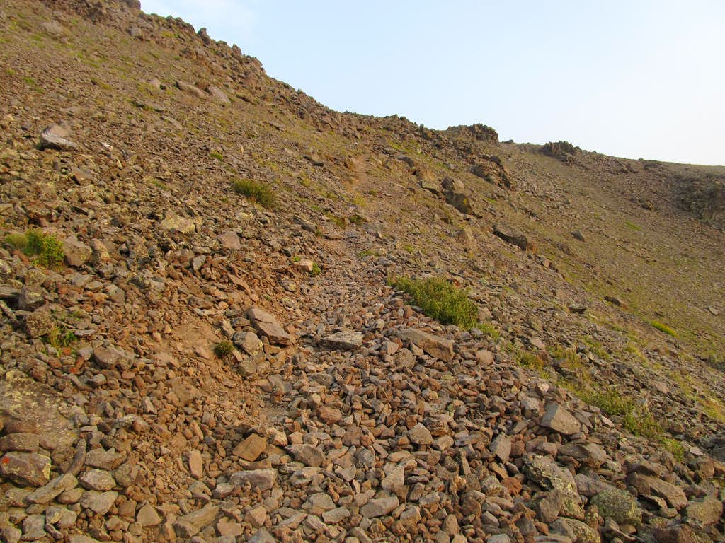 small climbers' trail