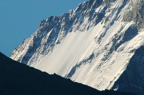 Dent Blanche north side
