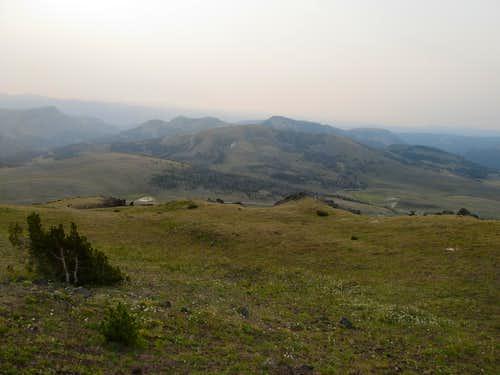 East from near Black Butte summit