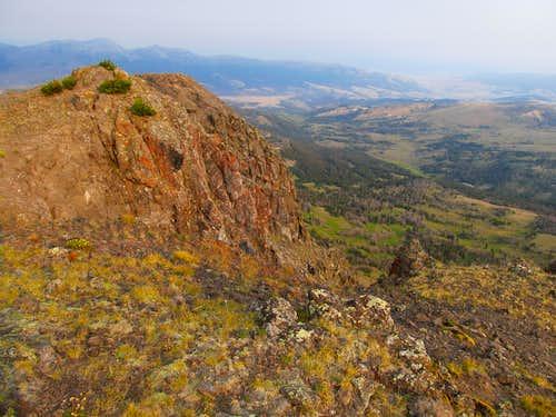 Sliderock from Black Butte