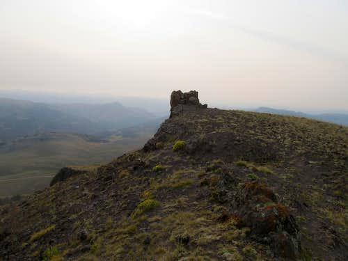 Black Butte summit cairn