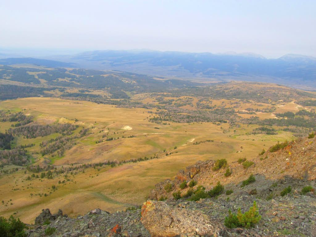 SW from Black Butte