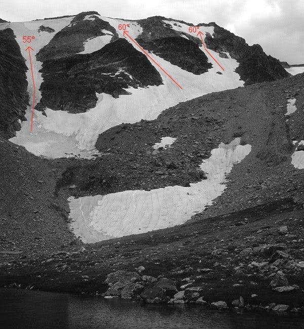 The North Face of Flattop...