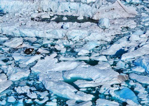Iceberg sea...