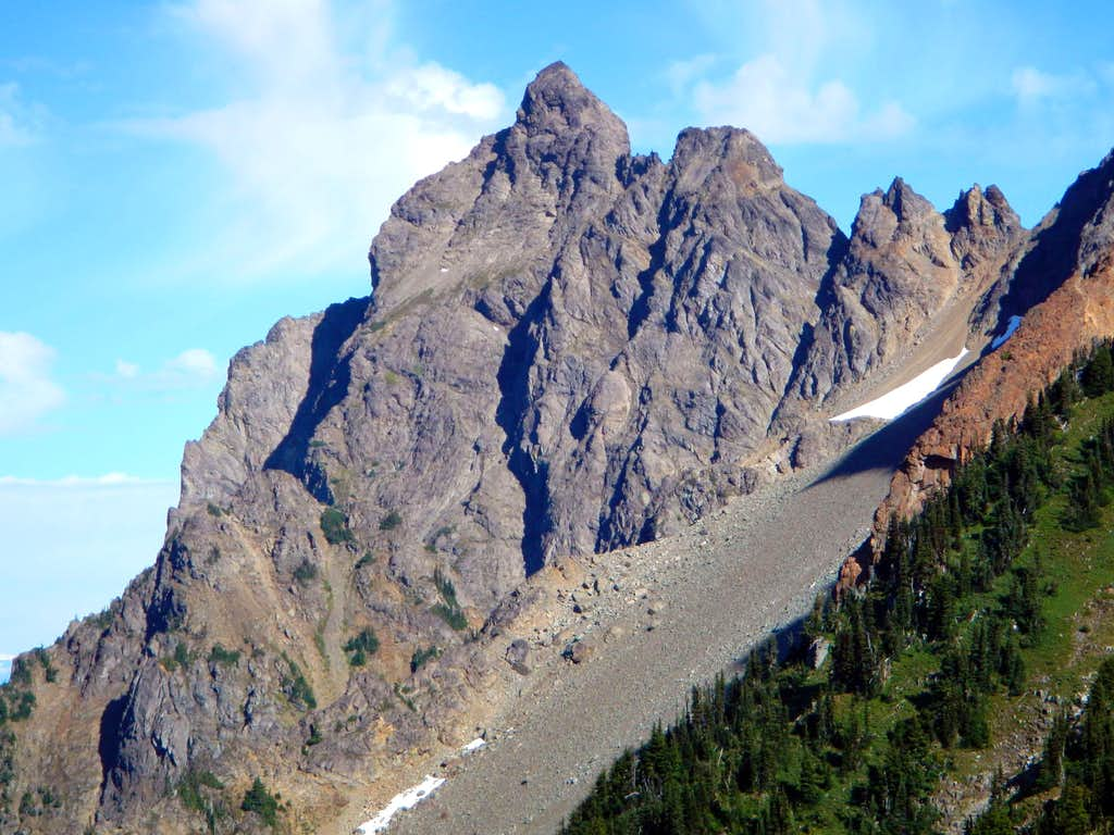 Canadian Border Peak SE Face