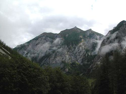 Grubenspitz (2306m) as seen...