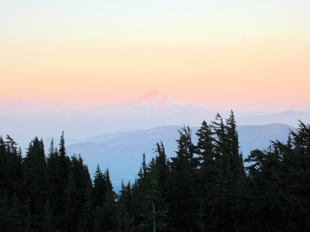 Mt. Hood from Mt. Adams