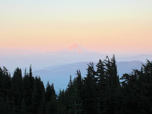 Mt. Hood from Mt. Adams