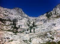 Thompson Peak and Caesar Peak