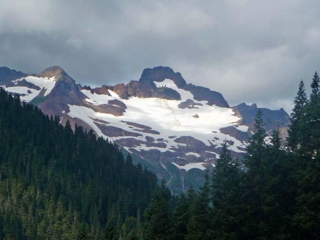 Misch Peak to the West