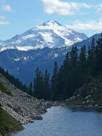 Glacier Peak with Cub Lake
