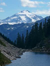Glacier Peak with Cub Lake
