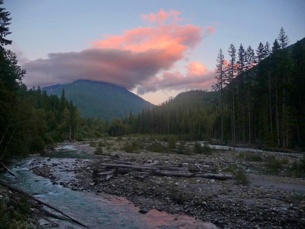 Suiattle River Sunset