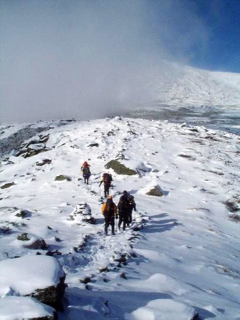 Mount Washington Climb