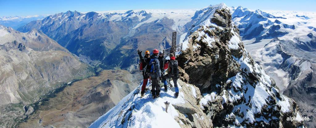 Italian Summit of the Matterhorn