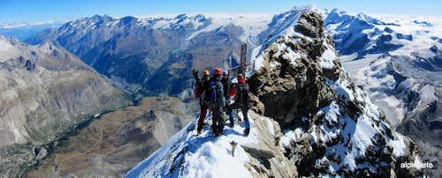 Italian Summit of the Matterhorn