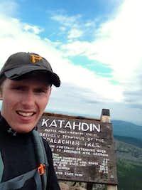 Mt katadhin summit