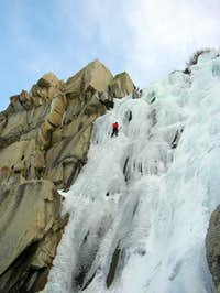 12-December-2004: Climber on...