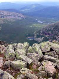 Mt katadhin view