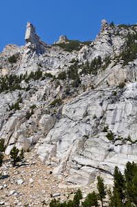 Barb Mountain granite