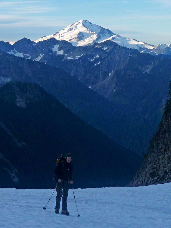 Jacob Smith with Glacier Peak