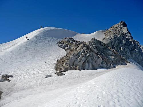 The Final Walk to the Summit Ridge