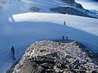 Steep Snow Section Ahead