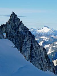 Arch Spire with Sloan Peak