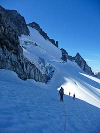 On the Upper Dome Glacier
