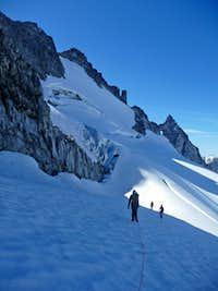 On the Upper Dome Glacier