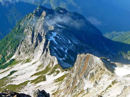 The Ridge near our Camp