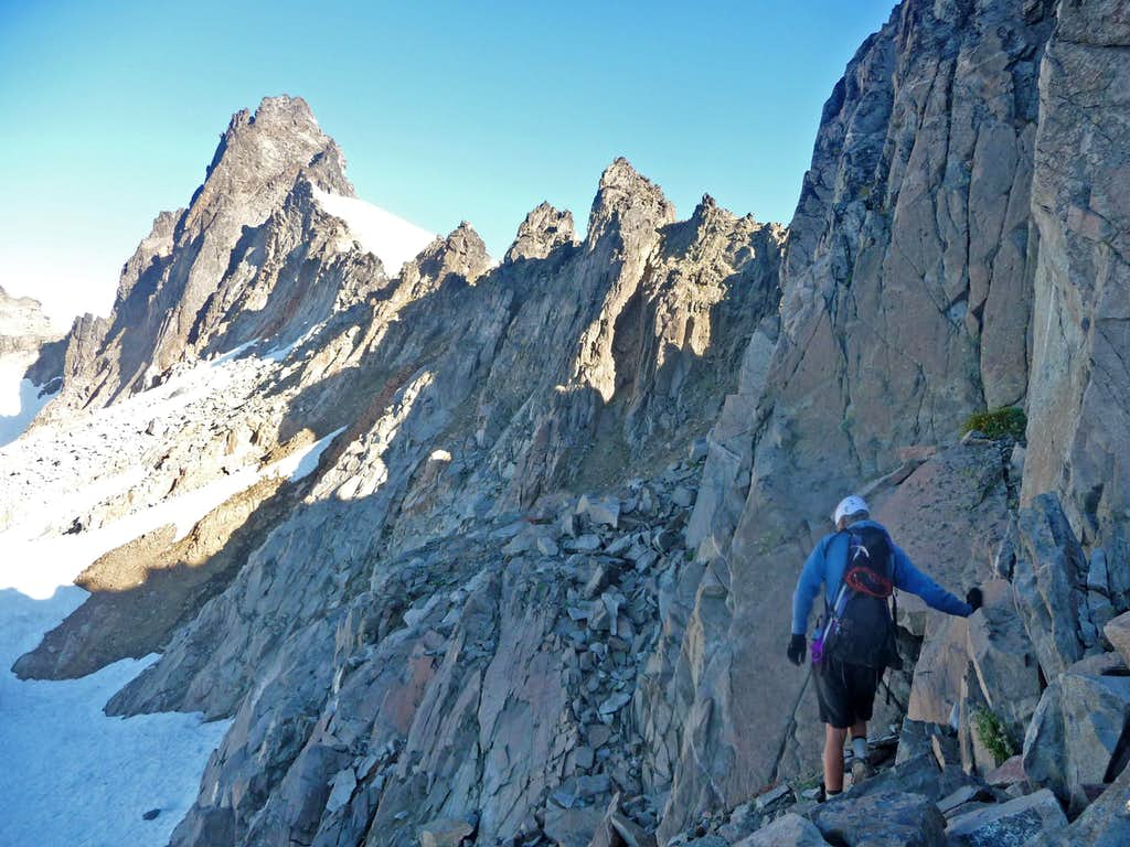 Approaching Spire Point